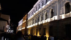 Fiesta de La Luz, Quito, government building