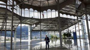 Inside the Palacio