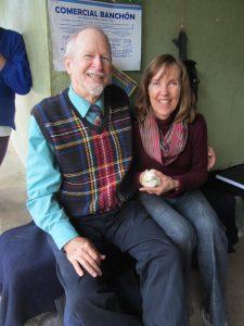 John & Cheryl (w/ guinea pig), Llullundongo, 2014