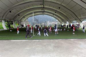 Volleyball & Soccer playground, Cumanda