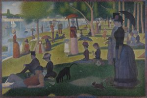 A Sunday Afternoon at The Island of Grande Jatte, Georges Seurat, 1884
