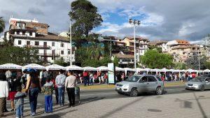Artisan Fair along Tomebamba River, Cuenca