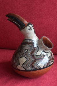 Ceramic Toucan -- authentic art of Puyo Women