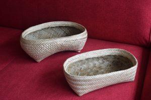 Totora reed baskets