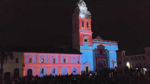 Light Show, Santo Domingo Church