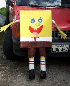 Sponge Bob Effigy