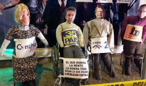 Barrio El Vado: Effigies of Presidential Candidates