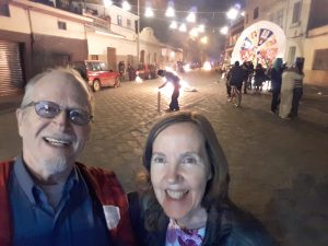 "Selfie. ""Old Year"" Celebration in Barrio El Vado"